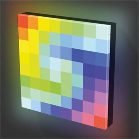 Alucobond pe consists of two sheets of smooth 0.020 al. 64PXL Tile Matrix RGB LED Panel Traxon Traxon Technologies