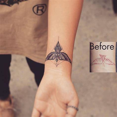 pin  logan robbins  tiny tattoos cover tattoo
