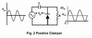 positive diode clamp circuit all about circuits With clamping circuit