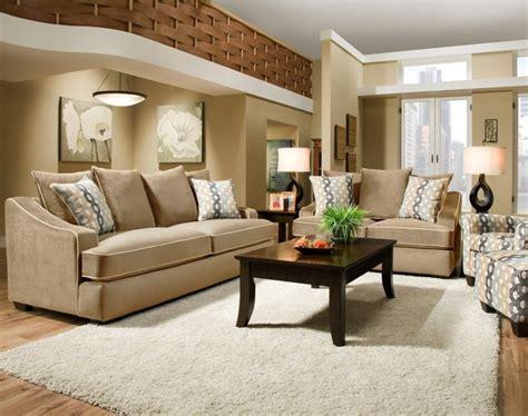 Living Room Beige Sofa Set Ideas