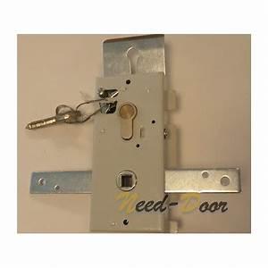 serrure cylindre avec cles de porte basculante hormann With porte de garage enroulable avec cylindre serrure