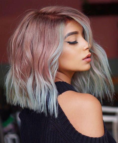 stylish lob hairstyle ideas  shoulder length hair