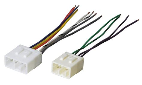 Male Wiring Harness Plugs Into Factory Radio For