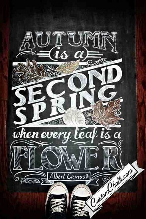 Pin by Andrea Díaz on :: Autumn :: Chalkboard typography