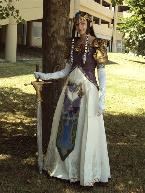 Cosplay Princess Zelda  By Sparqy On Deviantart