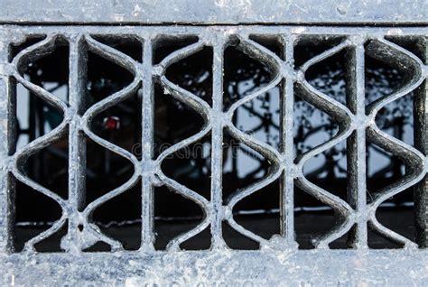 Leeren Sie Gitter Stockfoto Bild Von Metall, Oberfläche