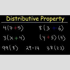 The Distributive Property  Discover How To Use It! Youtube