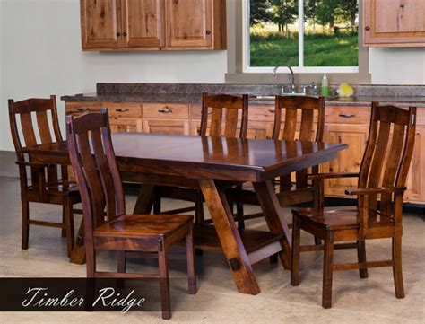 kitchen cabinets amish timber ridge dining room set amish furniture factory 2868