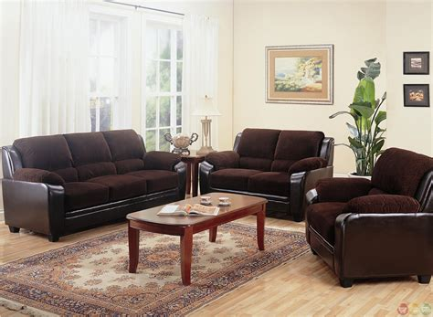 monika  toned dark brown corduroy casual living room