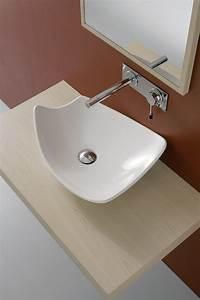Vasque à Poser Design : vasque poser design en c ramique s rie sn13 805 porto ~ Edinachiropracticcenter.com Idées de Décoration