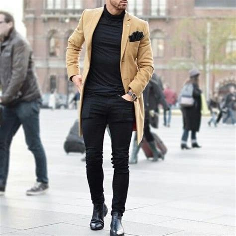 turncoat chelsea boots and black poloneck 1 dare 2