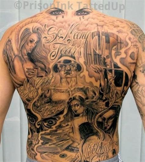 This Is A Bad Ass Horror Back Piece!  Tattoos I Want And