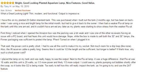 Aquascape Reviews by Aquascape Supplies Finnex Planted 24 7 Fully Automated