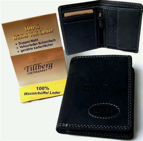 geldbeutel herren leder herren geldbeutel portemonnaie echt leder real only geldb 246 rse tillberg pv11 ebay