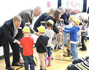 construction starts on jefferson early childhood center in 460 | JeffersonEarlyChildhoodCenter Shovels