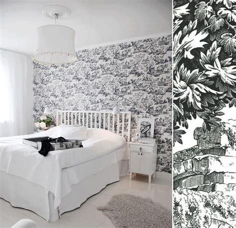 chambre toile de jouy papier peint toile de jouy noir et blanc toile de jouy