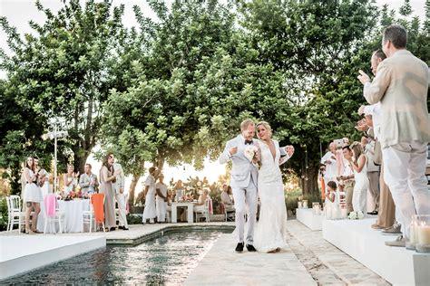 bloemen op ibiza trouwen op ibiza een romantisch feestje