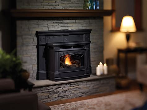 cast iron pellet stove insert hampton greenfire gci