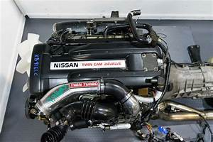 Nissan Skyline R33 Gtr Rb26det Engine With Twin Turbo