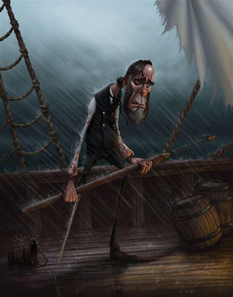 Captain Ahab Gregory Hartman Whimsical Art Pinterest