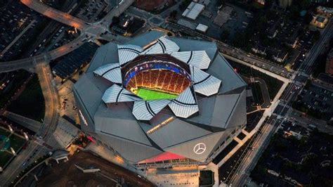 Remember, if you tear down the georgia dome, atlanta is out of the mix for final fours. Mercedes-Benz Stadium Set To Open | Sports Team History