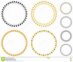 Circle template badge. stock vector. Image of label ...