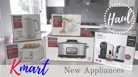 Haul  Kmart Kitchen Appliances  Youtube