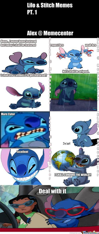 Lilo And Stitch Meme - lilo and stitch meme pt 1 by alex rockz meme center