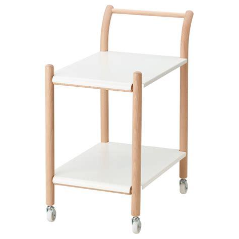 ikea side table ikea ps 2017 side table on castors beech white 69x40 cm ikea