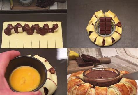 recette cuisine plus couronne banane nutella la recette la plus délicieuse