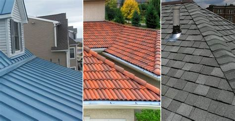 metal roofing vs roof shingles vs roof tiles vs slate