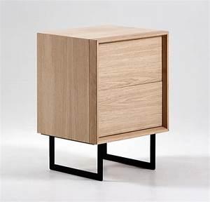 Table De Chevet Metal : table de chevet design brin d 39 ouest ~ Melissatoandfro.com Idées de Décoration