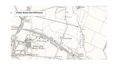 Paisley Gleniffer Course Golf Forgottengreens