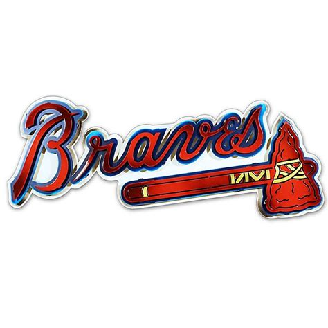 Tons of awesome atlanta braves wallpapers to download for free. MLB Atlanta Braves 3D Metal Crest Wall Art   Bed Bath & Beyond