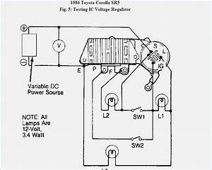Alternator Wiring Diagram Toyota Corolla