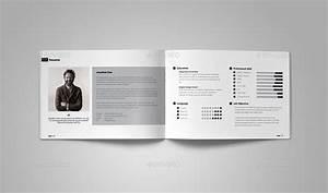 A5 Graphic Designer Portfolio by vanroem