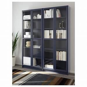 Regal Ikea Billy : billy bookcase dark blue ikea ~ Watch28wear.com Haus und Dekorationen