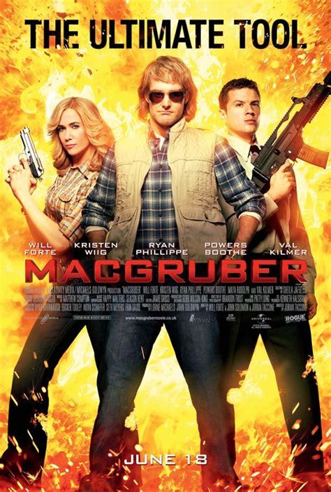 New Uk Posters For Macgruber Released Heyuguys