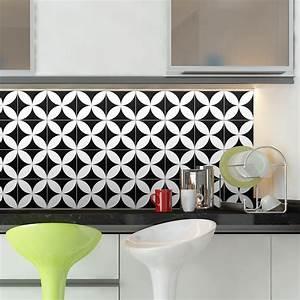 Stickers Carreaux De Ciment Cuisine : 30 stickers carreaux de ciment azulejos benigno cuisine ~ Melissatoandfro.com Idées de Décoration