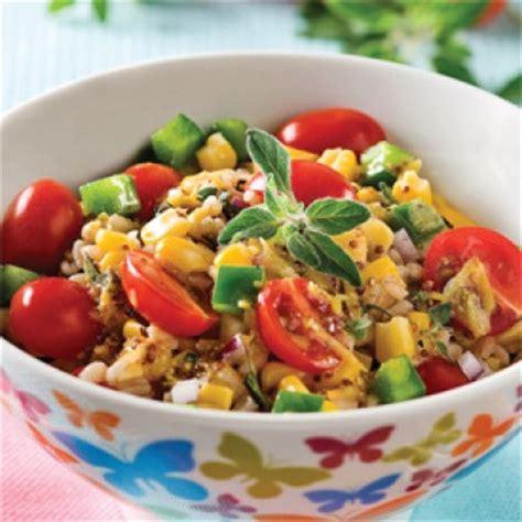 orge recettes cuisine salade d 39 orge mondé vinaigrette à l 39 origan recettes