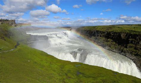 Gullfoss Waterfall Backgrounds by Gullfoss Iceland Computer Wallpapers Desktop Backgrounds