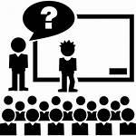 Class Teacher Icons Icon Question Flaticon Education