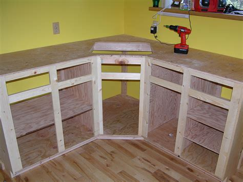how to build a corner cabinet for a tv how to build kitchen cabinet frame kitchen reno
