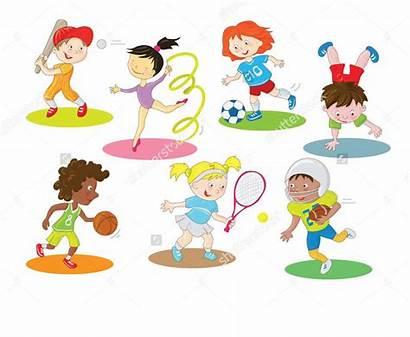 Clipart Clip Cartoon Children Indoor Doing Cliparts