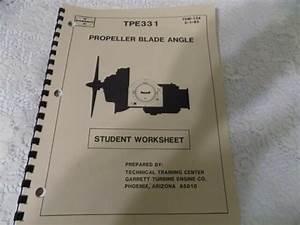 Garrett Tpe331 Propeller Blade Angle Student Guide Manual