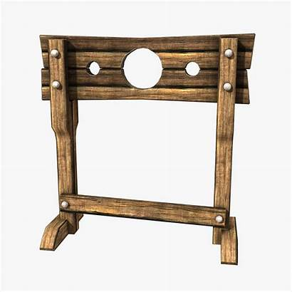 Stocks Medieval Punishments Times Hand Blood Cut