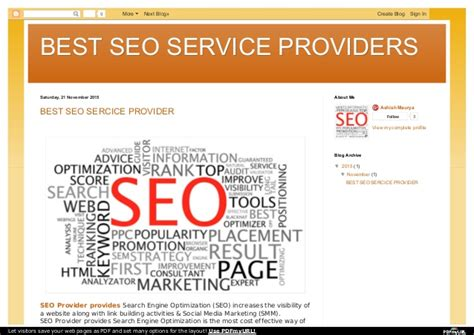 Seo Service Provider by Best Seo Service Provider