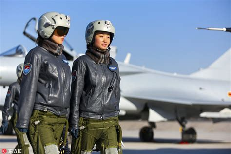 Woman Fighter Pilot Inspired Nation[5]- Chinadaily.com.cn