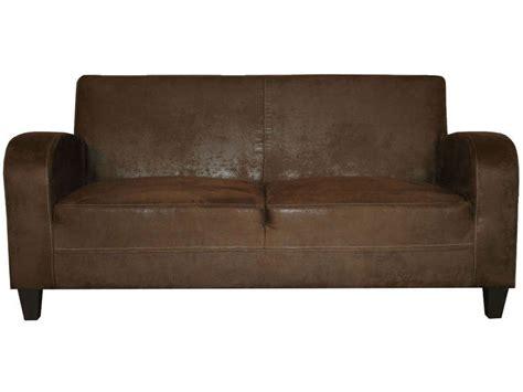 canapé cabb canapé fixe 3 places en tissu nany coloris marron vente