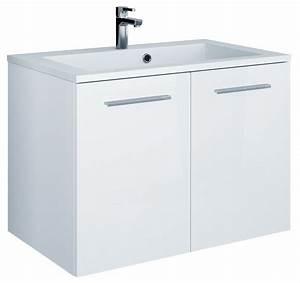 Meuble Sous Vasque 80 Cm : meuble sous vasque 80 cm meuble sous vasque x x cm blanc ~ Nature-et-papiers.com Idées de Décoration